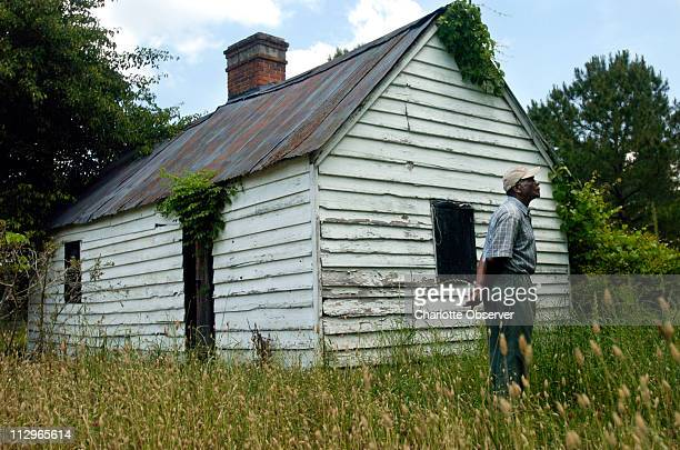 Johnnie Leach pictured May 12 formerly lived in a slave cabin with his family on the Magnolia Plantation where he has been working for over fifty...