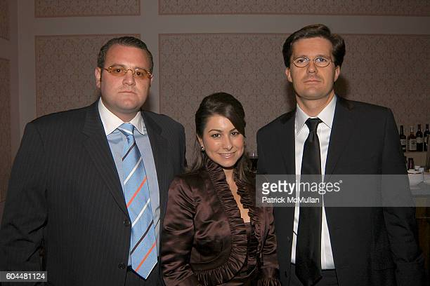 Johnnie Miranti Jennifer Pellegrino and Gilles Rousseau attend CRT's Cancer Survivors Hall of Fame Dinner Dance at The Hilton NYC on November 2 2006