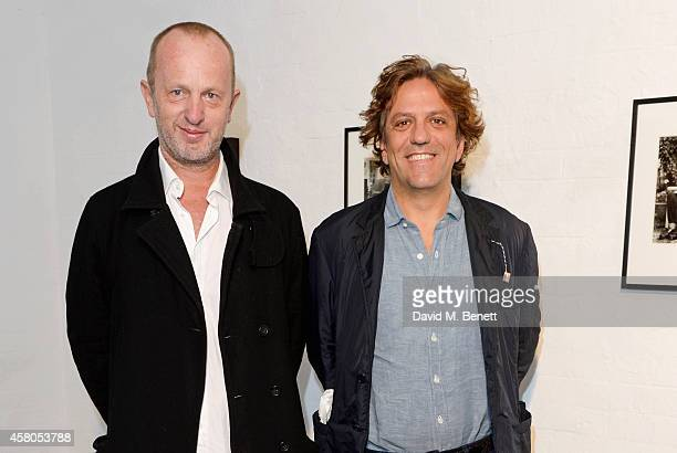Johnnie Shand Kydd and Giorgio Locatelli attend the Day of the Dead Festival produced by the Mexican Embassy in the UK and supported by Jose Cuervo...