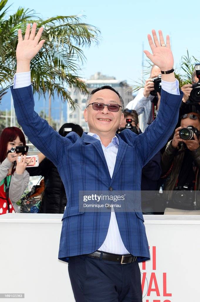 Johnnie To attends the photocall for 'Blind Detective' during the 66th Annual Cannes Film Festival at Palais des Festivals on May 20, 2013 in Cannes, France.