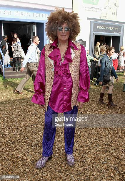 Johnnie Walker attends Day 2 of the Vintage at Goodwood Festival on August 14, 2010 in Chichester, England.