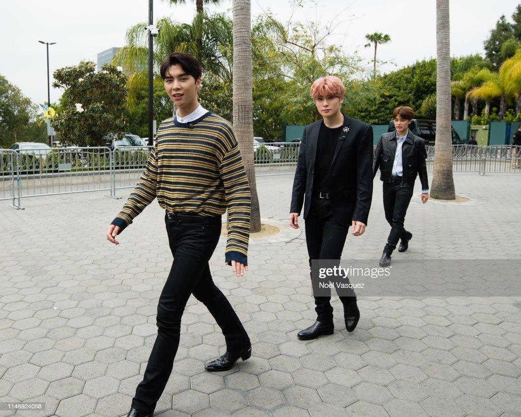 Johnny and Jaehyun of NCT 127 visit