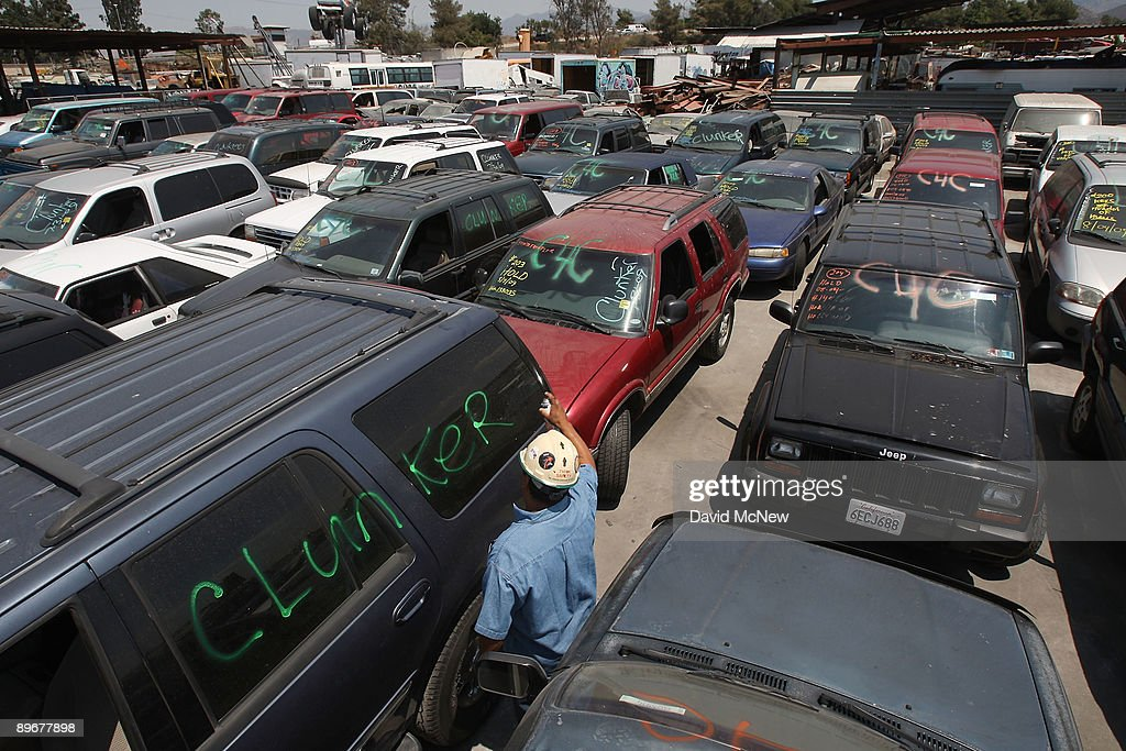 Cash For Clunkers Ca >> The Senate Passes Bill To Extend Cash For Clunkers Program Photos