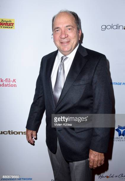 Johnny Bench attends the 17th Annual Harold Carole Pump Foundation Gala at The Beverly Hilton Hotel on August 11 2017 in Beverly Hills California