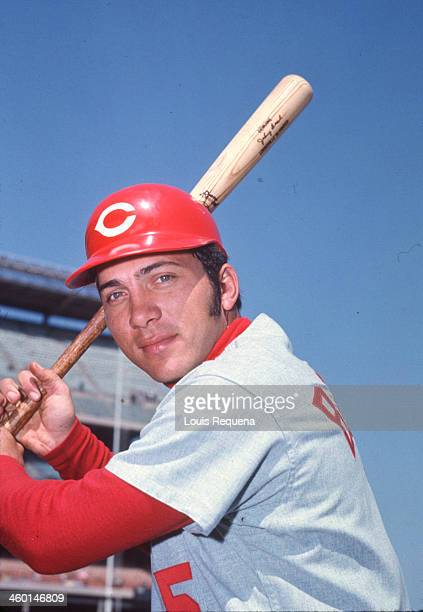 Johnny Bench of the Cincinnati Reds poses for a photo before a National League game against the New York Mets at Shea Stadium in this undated photo