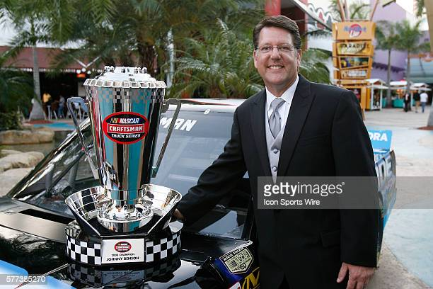 Johnny Benson during the 2008 Nascar Craftsman Truck Series Championship Banquet Seminole Hard Rock November 17 2008