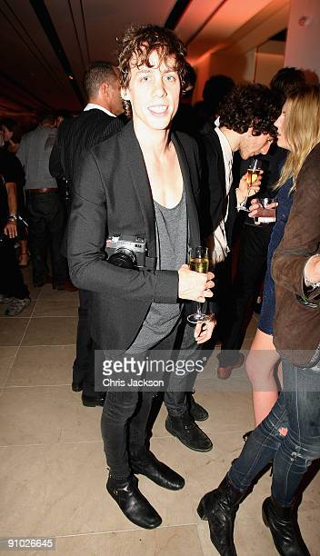 Johnny Borrell at the Afterparty for Burberry Prorsum Spring/Summer 2010 Show at Horseferry House during London Fashion Week on September 22 2009 in...