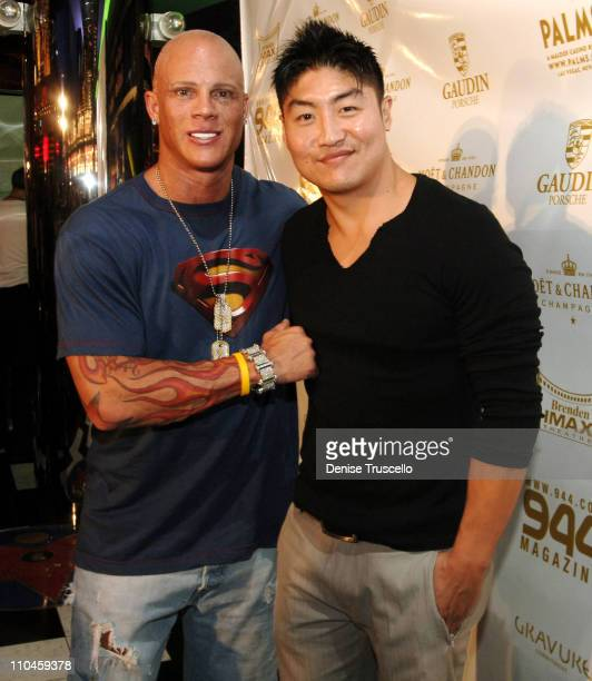 Johnny Brenden and Brian Tee during Superman Returns Special Screening Hosted by The Palms Hotel and Casino Resort and 944 Magazine at Brenden...