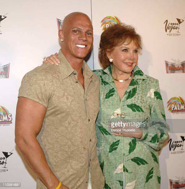 Johnny Brenden and Rhonda Fleming during CineVegas Film Festival 2005 Rhonda Fleming Recieves Brenden Celebrity Star at Brenden Theatres in Las Vegas...