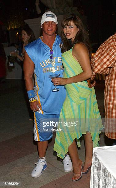Johnny Brenden of Brenden Theatres and guest during CineVegas 2004 Vegas Magazine and Cadillac Host the Opening Night Party for CineVegas at Caesar's...