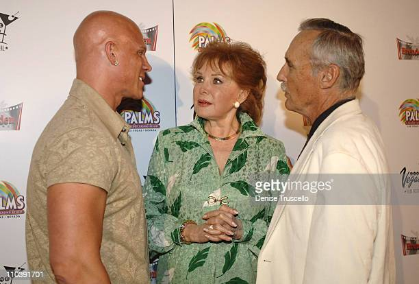 Johnny Brenden Rhonda Fleming and Dennis Hopper during CineVegas Film Festival 2005 Rhonda Fleming Recieves Brenden Celebrity Star at Brenden...