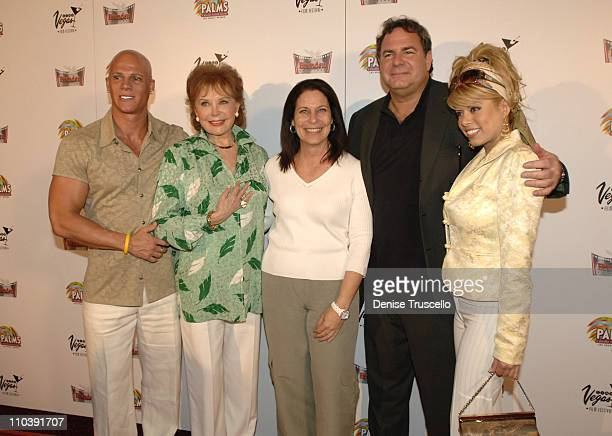 Johnny Brenden Rhonda Fleming Robin Greenspun Danny Greenspun and Diva