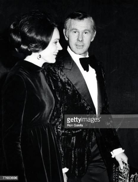 Johnny Carson and Joanna Carson