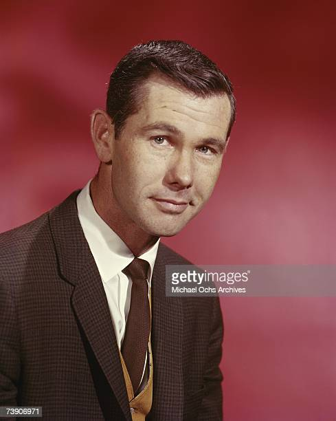 Johnny Carson host of the Tonight Show poses for a portrait circa 1965 in New York City New York