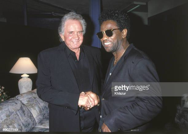 Johnny Cash and Al Green