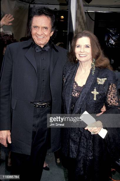 Johnny Cash and June Carter Cash during 26th Annual Academy of Country Music Awards at Universal Ampitheater in Universal City California United...