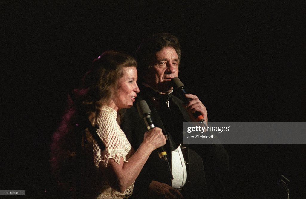 Johnny Cash And June Carter Cash Perform In Minnesota Pictures