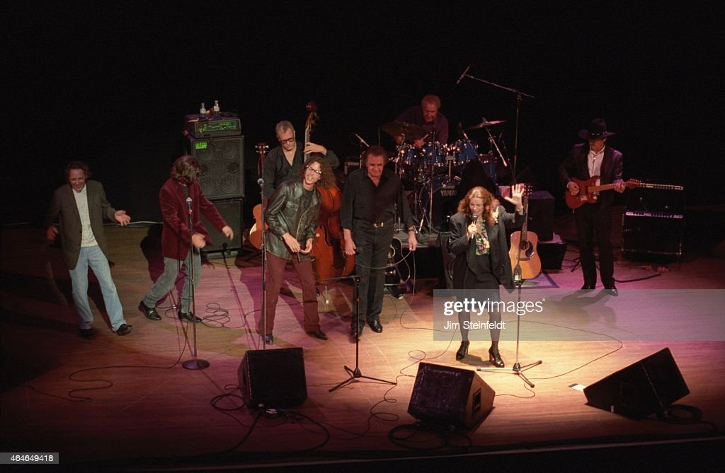 Johnny Cash June Carter Cash And The Jayhawks Perform In Minnesota