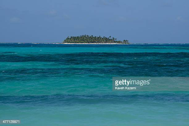 Johnny Cay coral islet located 15 km to the north of the main island is seen on January 24 2014 in San Andres Colombia Colombia has a territorial...