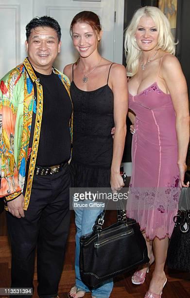 Johnny Chan, Shannon Elizabeth and Jill Ann Spaulding