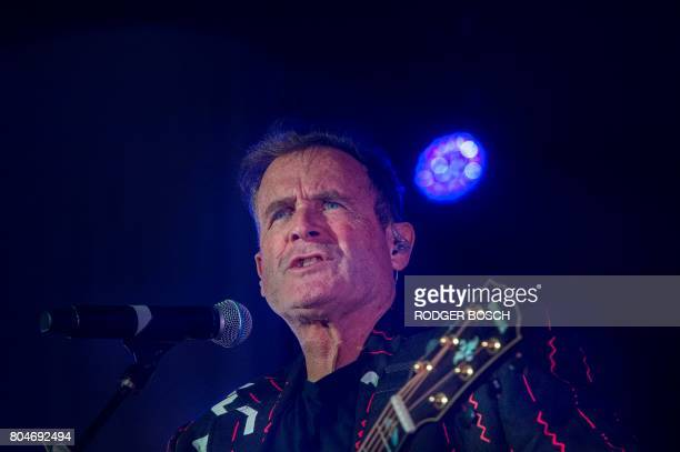 Johnny Clegg performs at Grandwest Arena on June 30 2017 in Cape Town on the first live gig of his final world tour after which he is expected to...