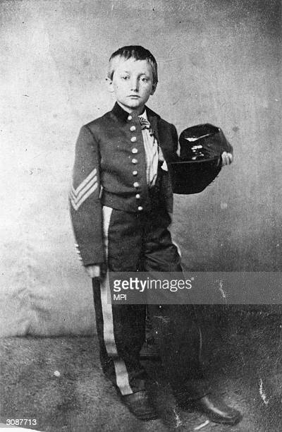 Johnny Clem a drummer boy in the Union Army who became a hero after the Battle of Shiloh