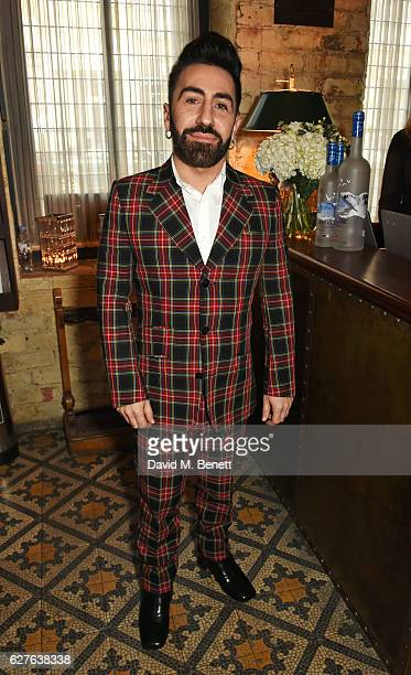 Johnny Coca attends The Fashion Awards in partnership with Swarovski nominees' lunch hosted by the British Fashion Council with Grey Goose at Little...