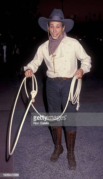 Johnny Crawford attends the screening of The Gambler Returns on October 14 1991 at the Academy Theater in Beverly Hills California