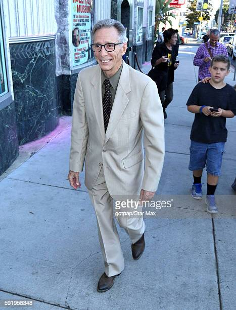 Johnny Crawford is seen on August 18 2016 at The Hollywood Museum in Los Angeles California