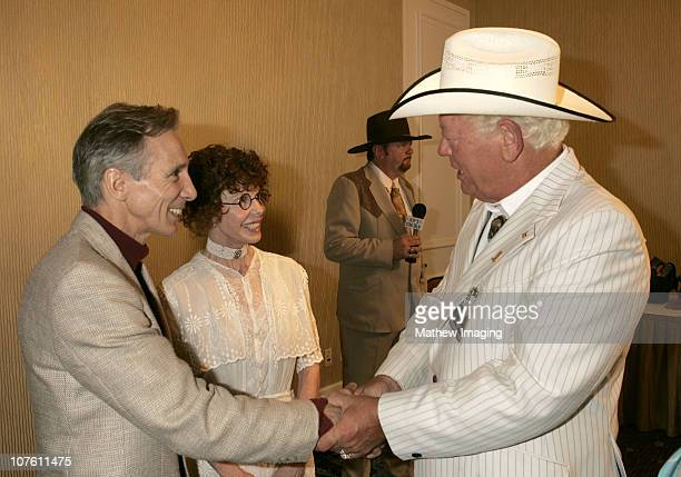 Johnny Crawford Kim Darby and Caruth C Byrd *Exclusive Coverage*
