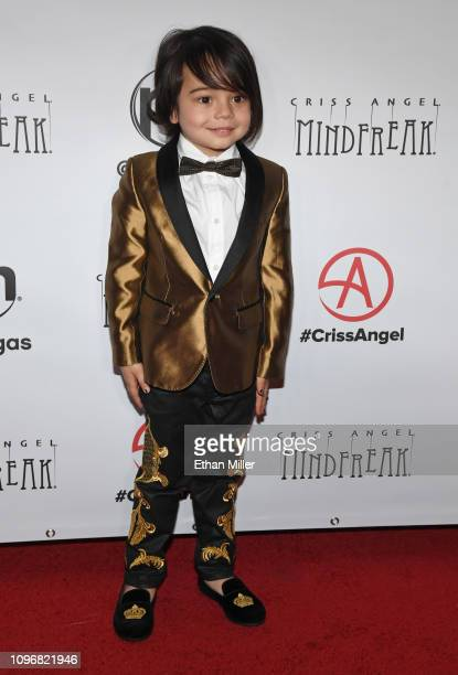 Johnny Crisstopher Sarantakos attends the grand opening of Criss Angel MINDFREAK at Planet Hollywood Resort Casino on January 19 2019 in Las Vegas...