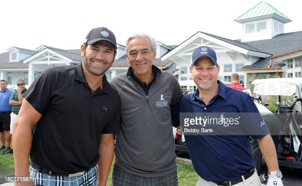 Johnny Damon and Richard Shadyac, Jr. CEO of St. Jude Childen's Reasearch Hospital and Larry Glick of The Trump Organization attends the 7th Annual...