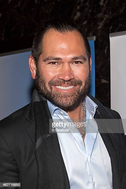 Johnny Damon attends the 'Celebrity Apprentice' Red Carpet Event at Trump Tower on February 3 2015 in New York City