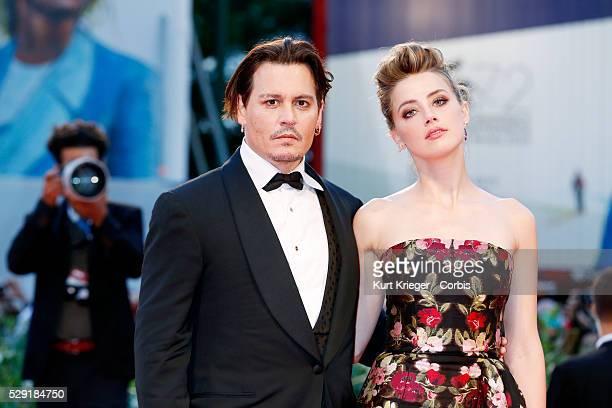 Johnny Depp Amber Heard The Danish Girl premiere 72nd Venice Film Festival Venice Italy September 5 2015 ��Kurt Krieger