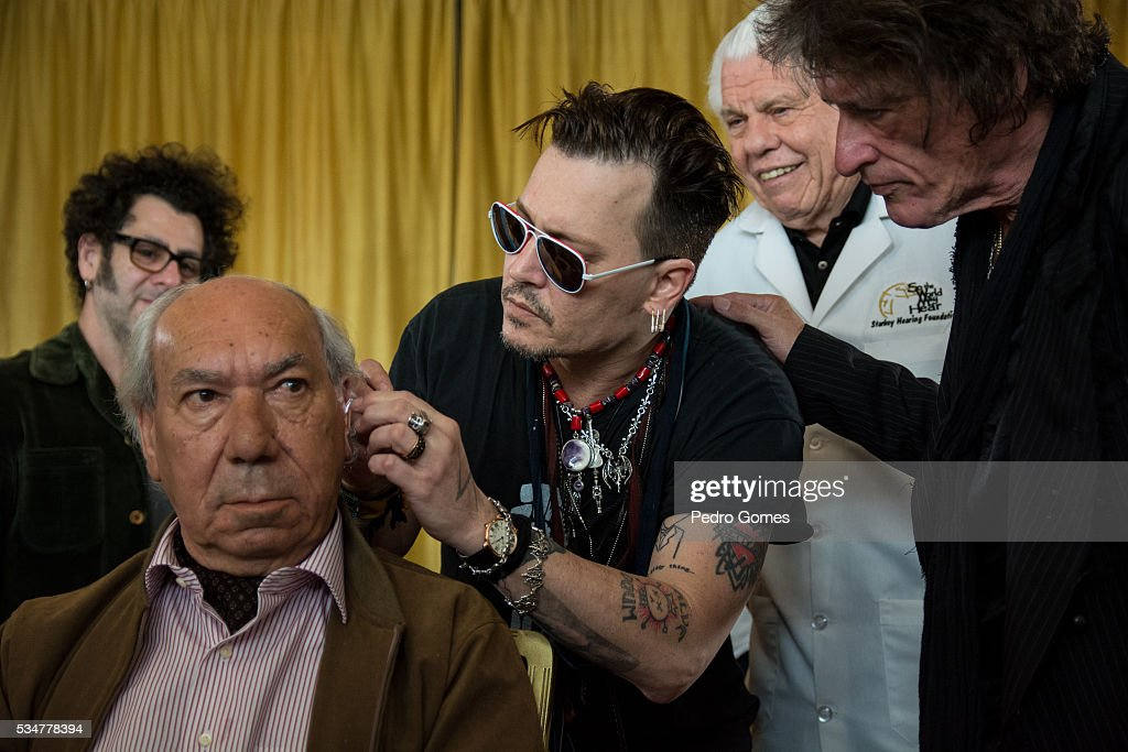 Starkey Hearing Foundation Hearing Mission With Hollywood Vampires - Rock In Rio Lisboa 2016 : News Photo