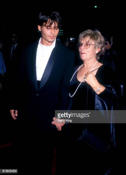 Johnny Depp and mother