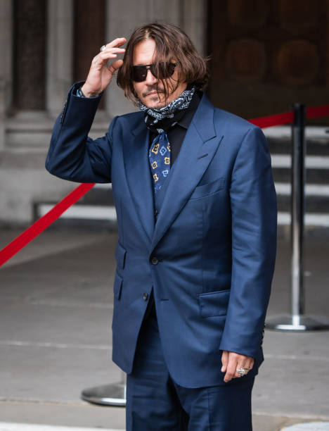 GBR: Johnny Depp In Libel Case Against The Sun Newspaper - Day 3