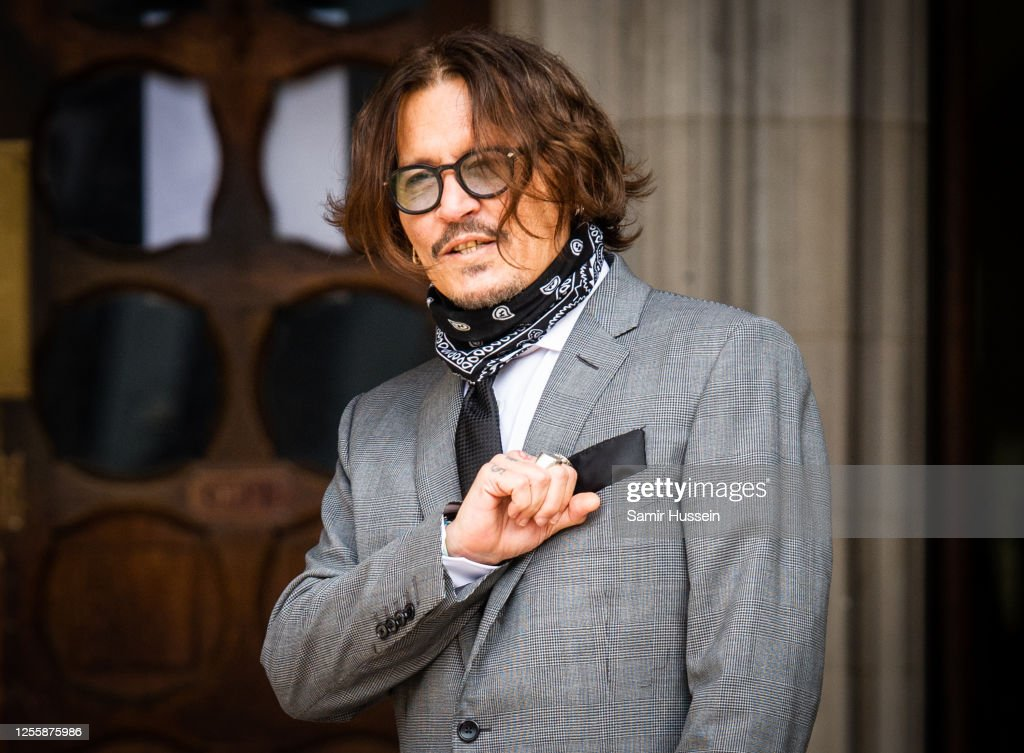 Johnny Depp In Libel Case Against The Sun Newspaper - Day 5 : ニュース写真