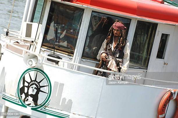 Johnny Depp as Captain Jack Sparrow Wax Figure on the Circle Line