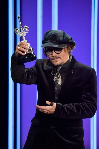ESP: Johnny Depp - Donostia Award Ceremony - 69th San Sebastian Film Festival
