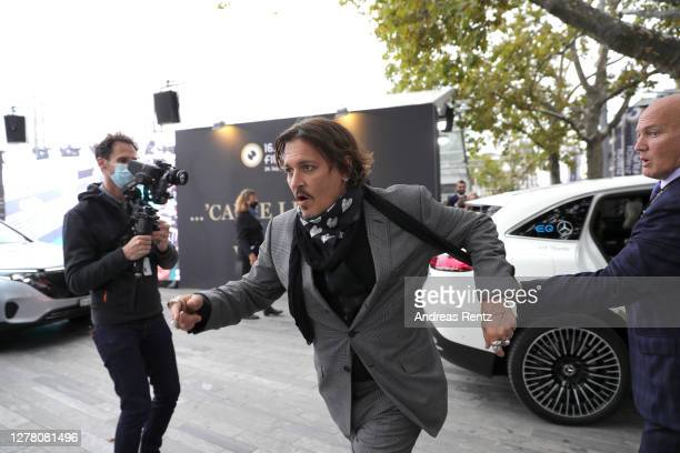 Johnny Depp attends the Crock of Gold A few Rounds with Shane McGowan premiere during the 16th Zurich Film Festival at Kino Corso on October 02 2020...