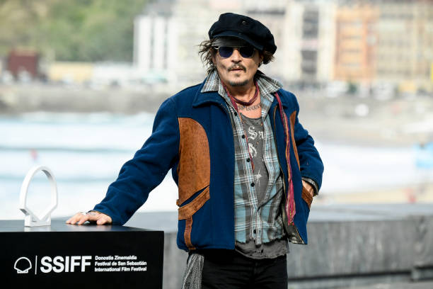 ESP: Johnny Depp - Donostia Award Photocall - 69th San Sebastian Film Festival