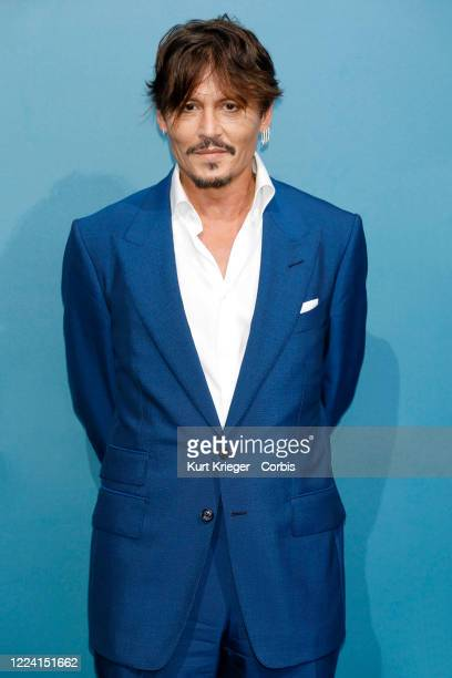 Johnny Depp attends the photo call for 'Waiting for the Barbarians' during the 76th Venice Film Festival on September 6, 2019 in Venice, Italy.