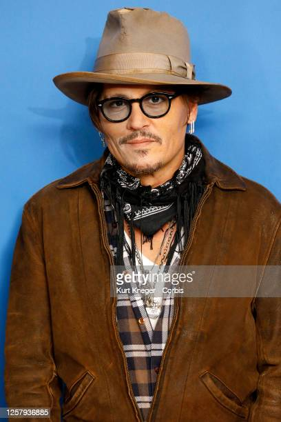 Johnny Depp attends the photocall for 'Minamata' at the Grand Hyatt Hotel during the 70th Berlin International Film Festival on February 21, 2020 in...