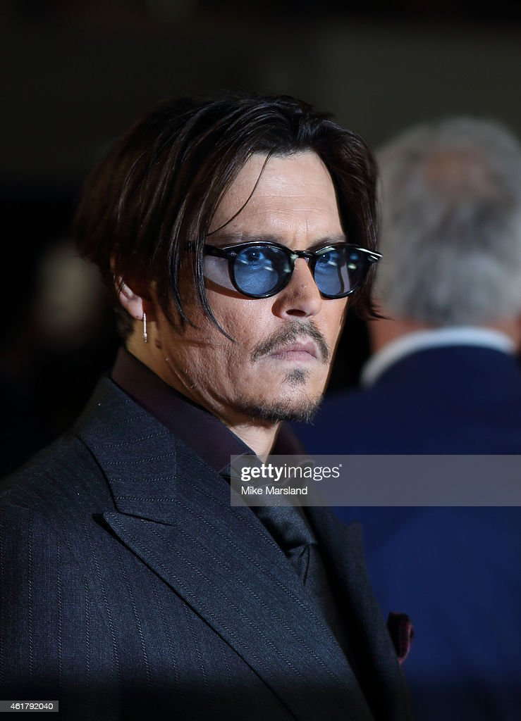 """Mortdecai"" - UK Premiere - Red Carpet Arrivals : News Photo"