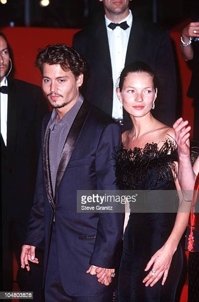 Johnny Depp Kate Moss during 51st Cannes Film Festival in Cannes France