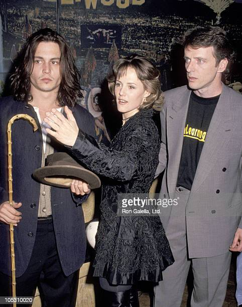 Johnny Depp Mary Stuart Masterson and Aidan Quinn