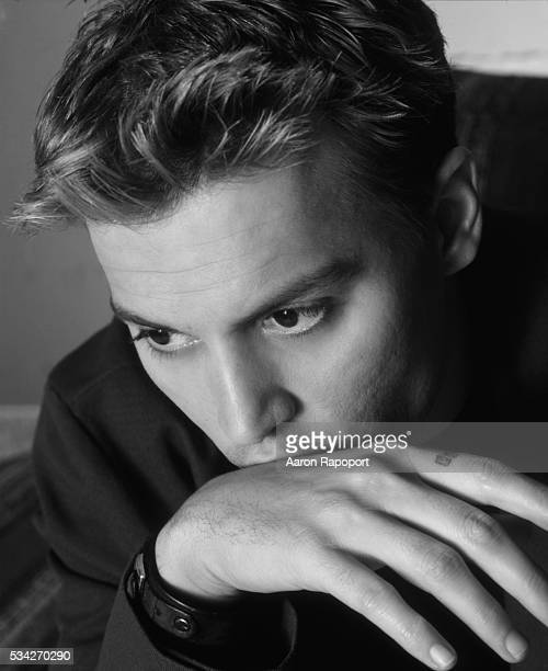 Johnny Depp poses for Parade Magazine in Los Angeles in 1998