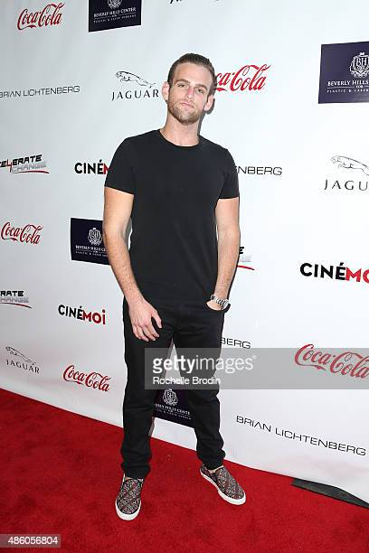Johnny Drubel arrives at the Accelerate4Change charity event presented by Dr Ben Talei Cinemoi on August 29 2015 in Beverly Hills California