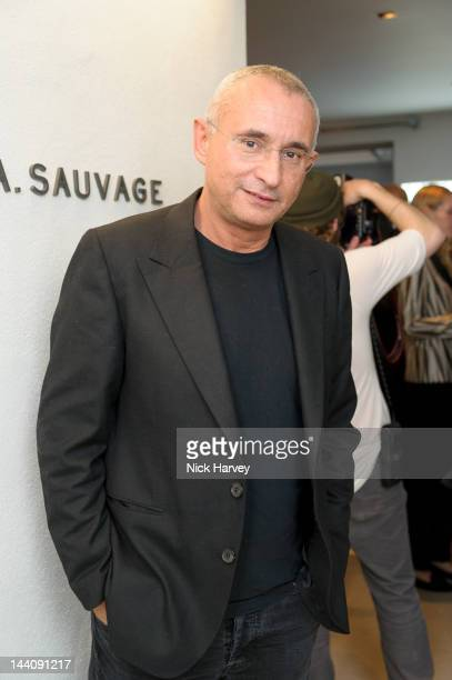 Johnny Elichaoff attends the opening of the House A Sauvage flagship store on May 9 2012 in London England